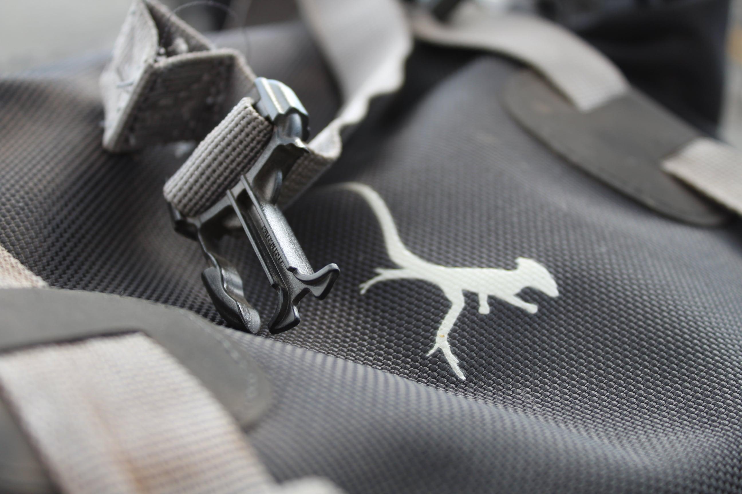 fixing broken buckle on moto bag