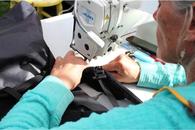 Kim sewing