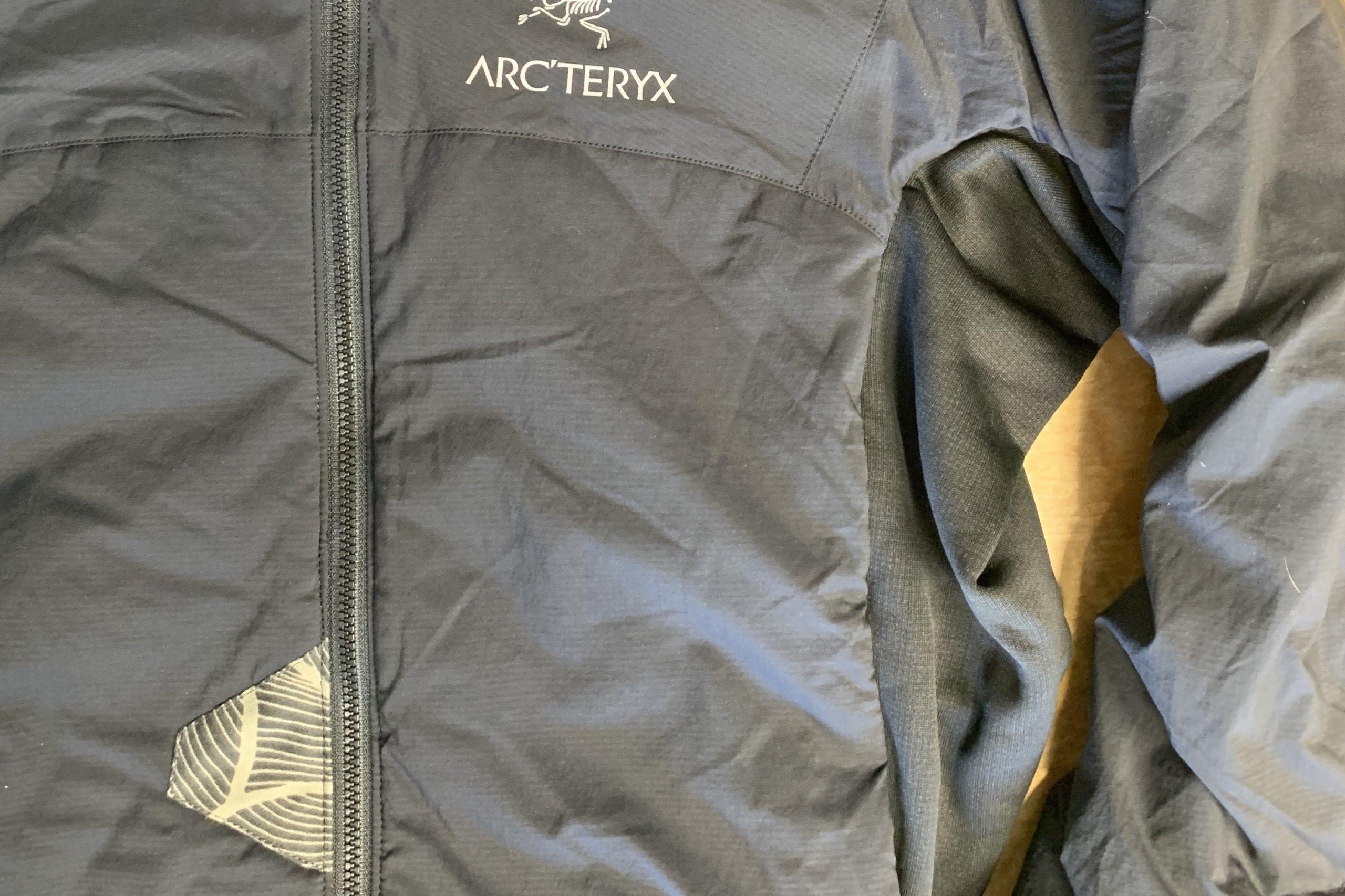 arcyteryx patching
