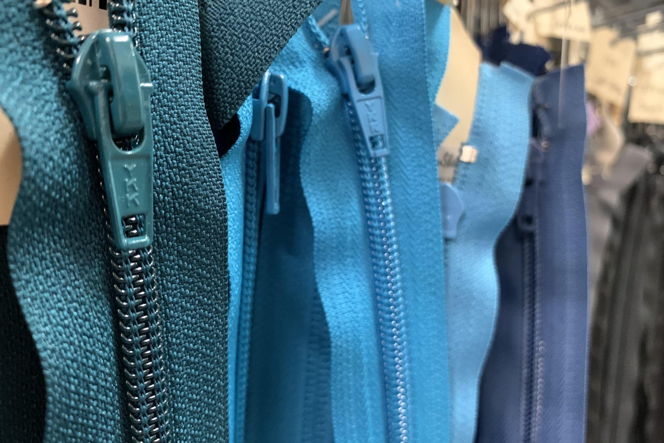 zipper inventory