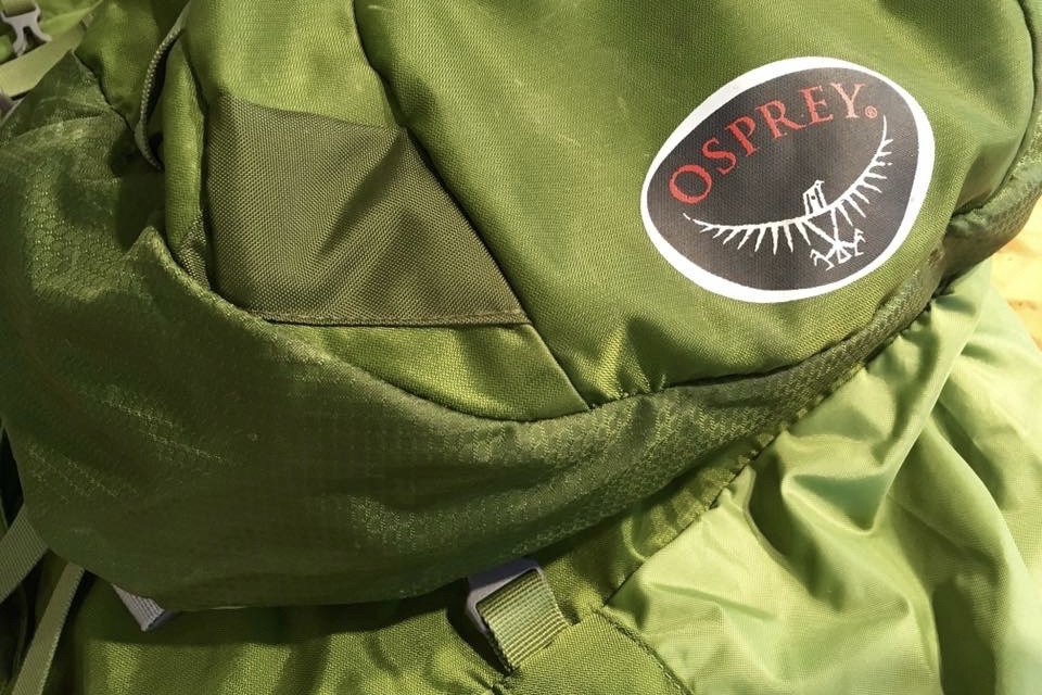 Osprey pack patch