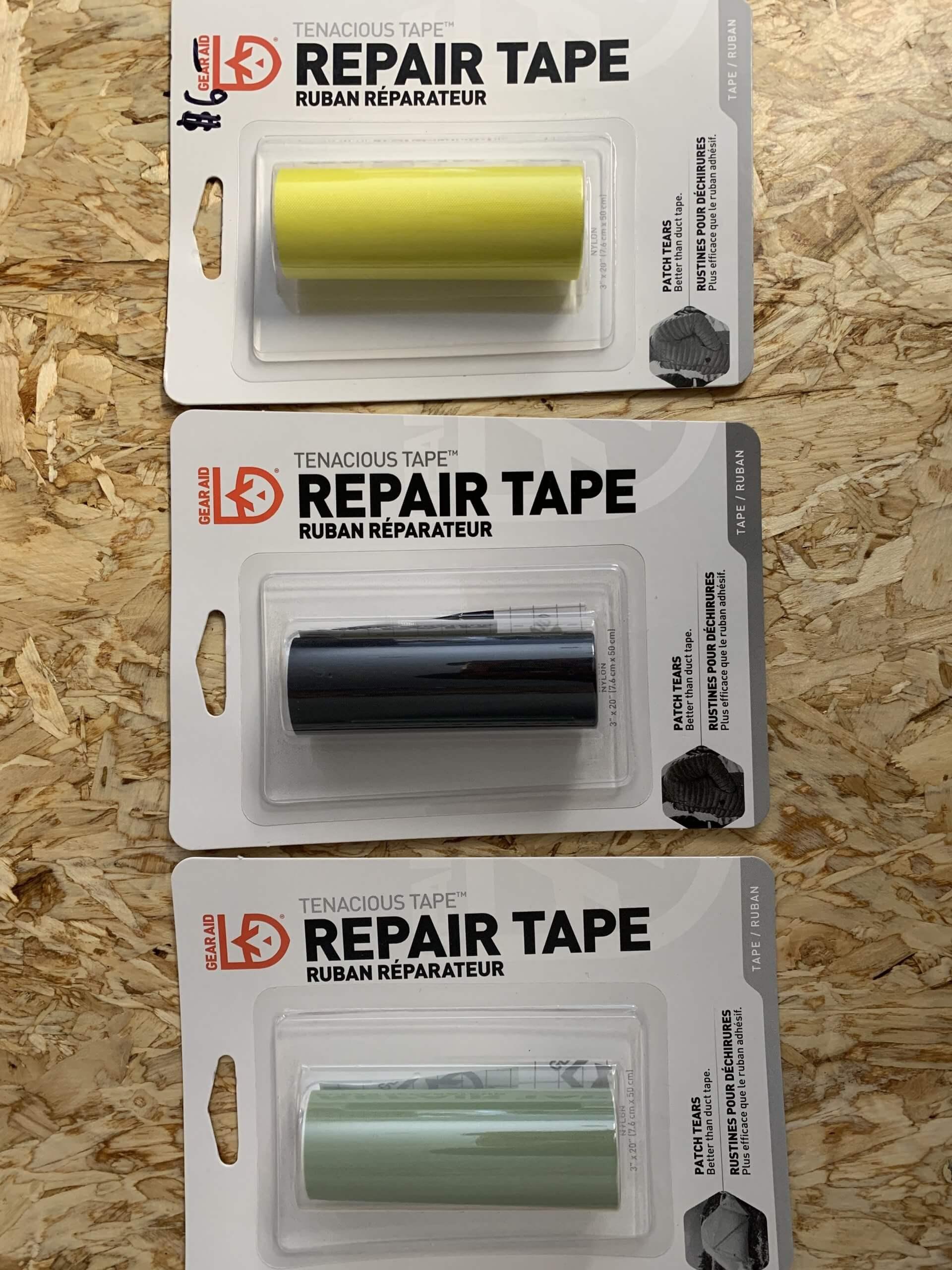 How to use Tenacious Tape