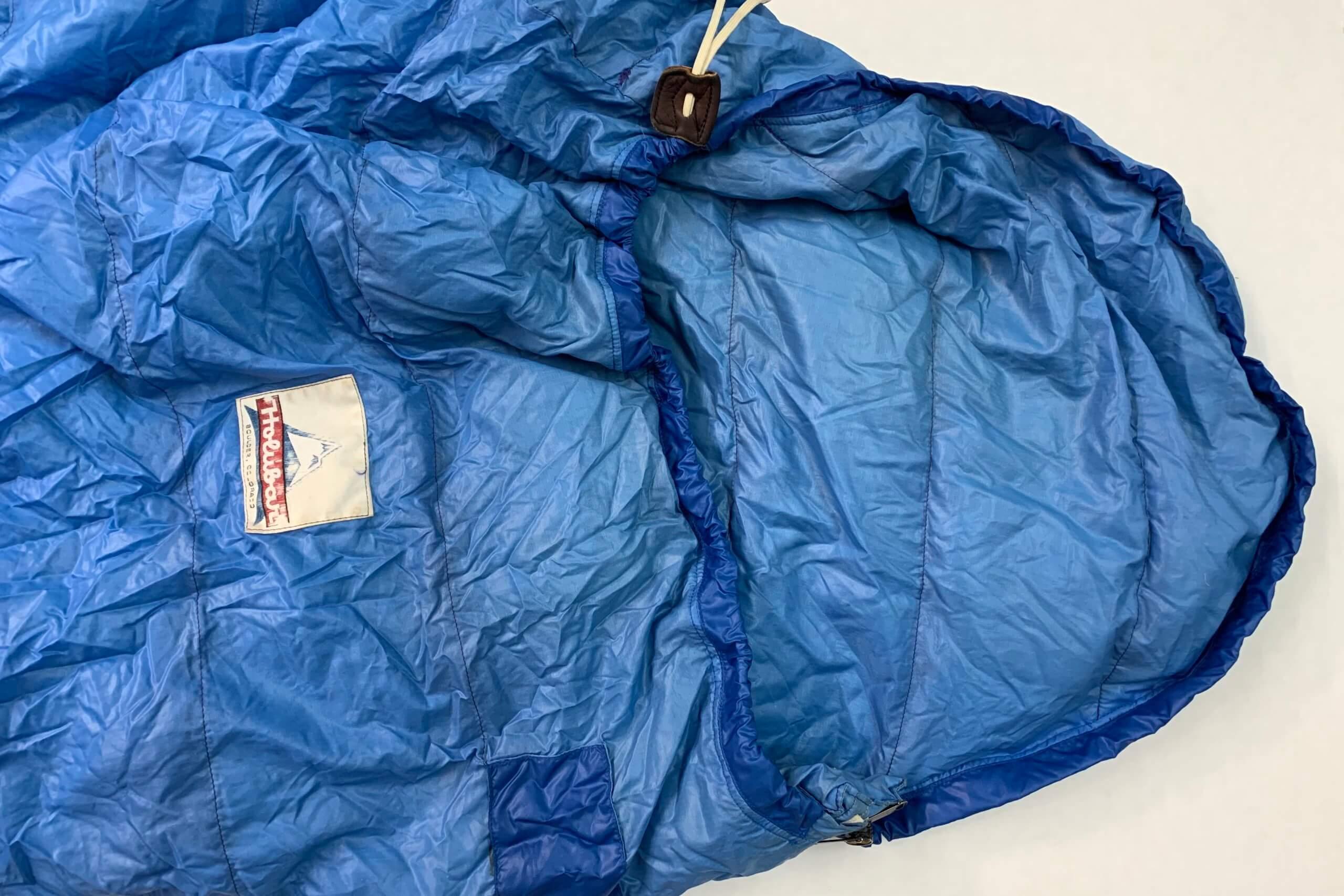 Holubar sleeping bag repair
