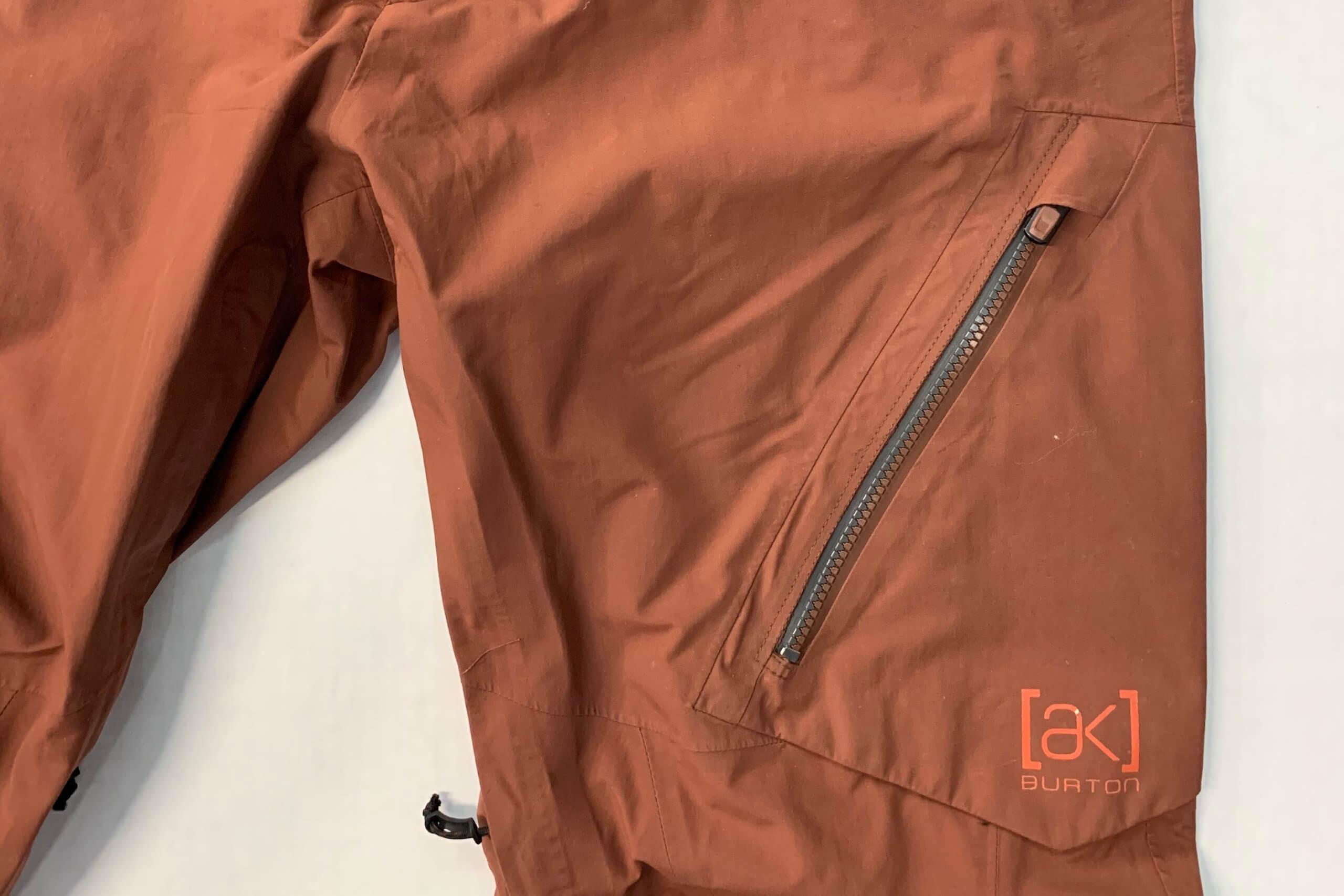 Burton bib zipper repair