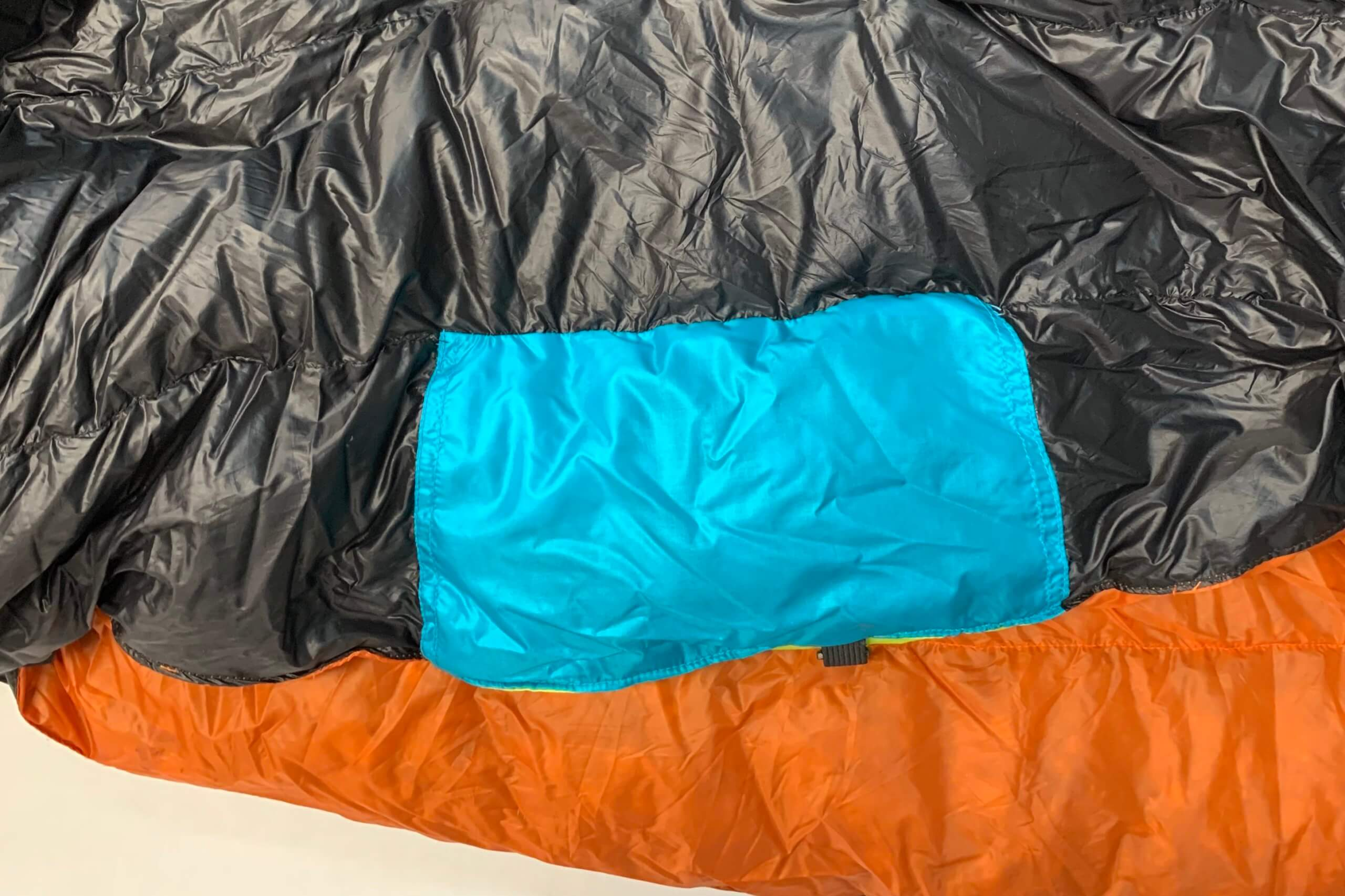 sleeping bag patching