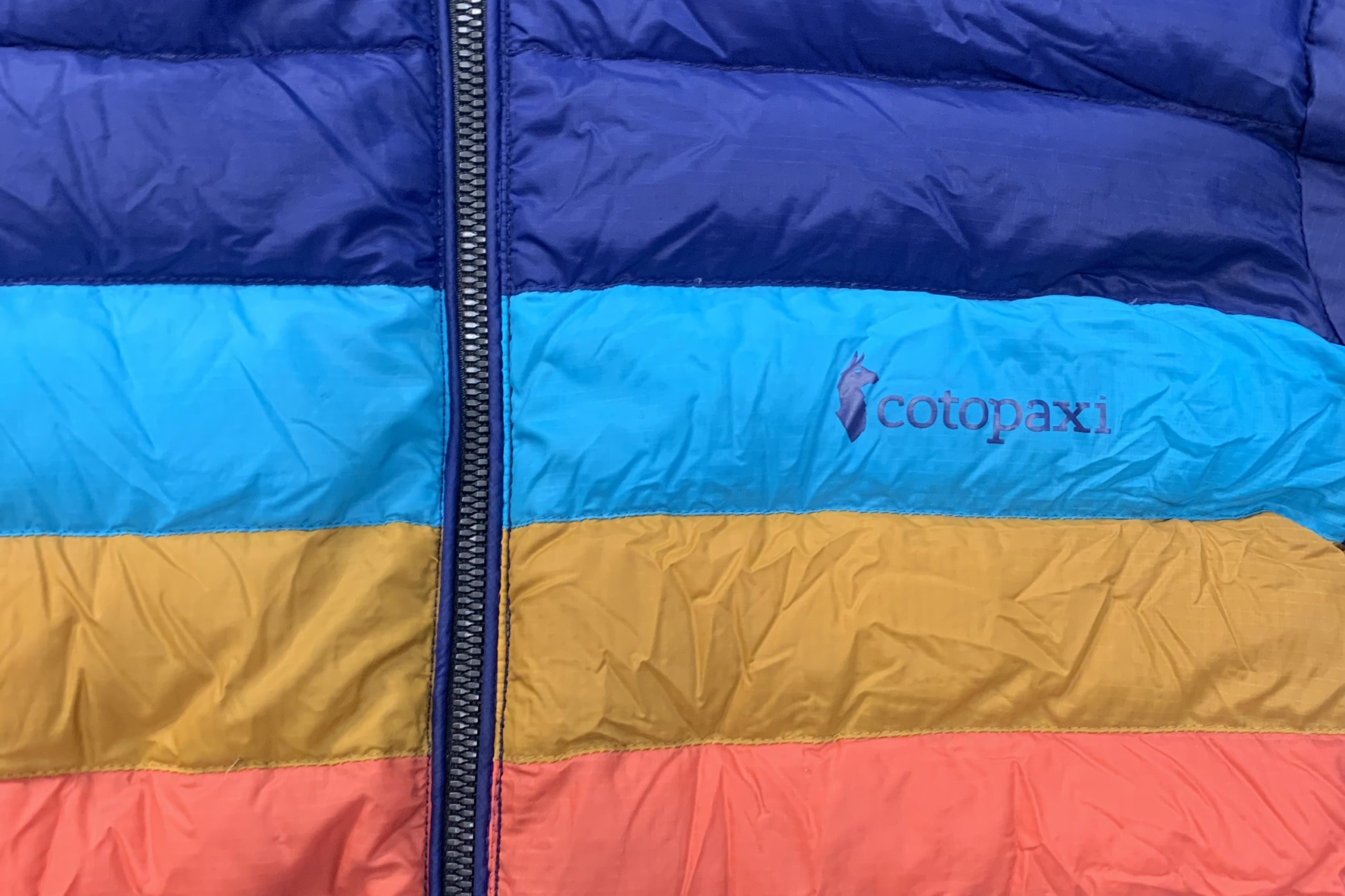 Cotopaxi down jacket zipper replacement