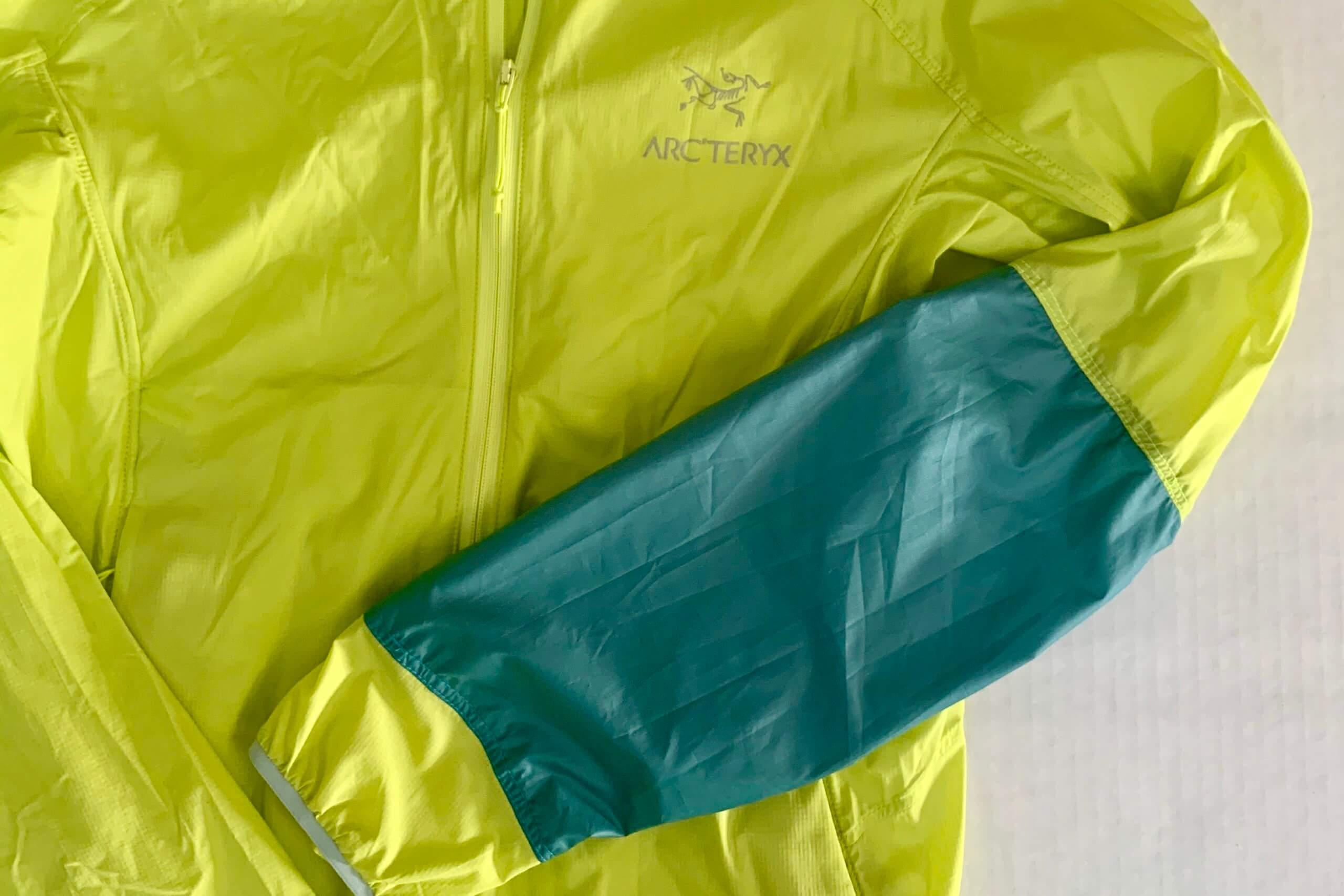 Arcteryx nylon jacket patch