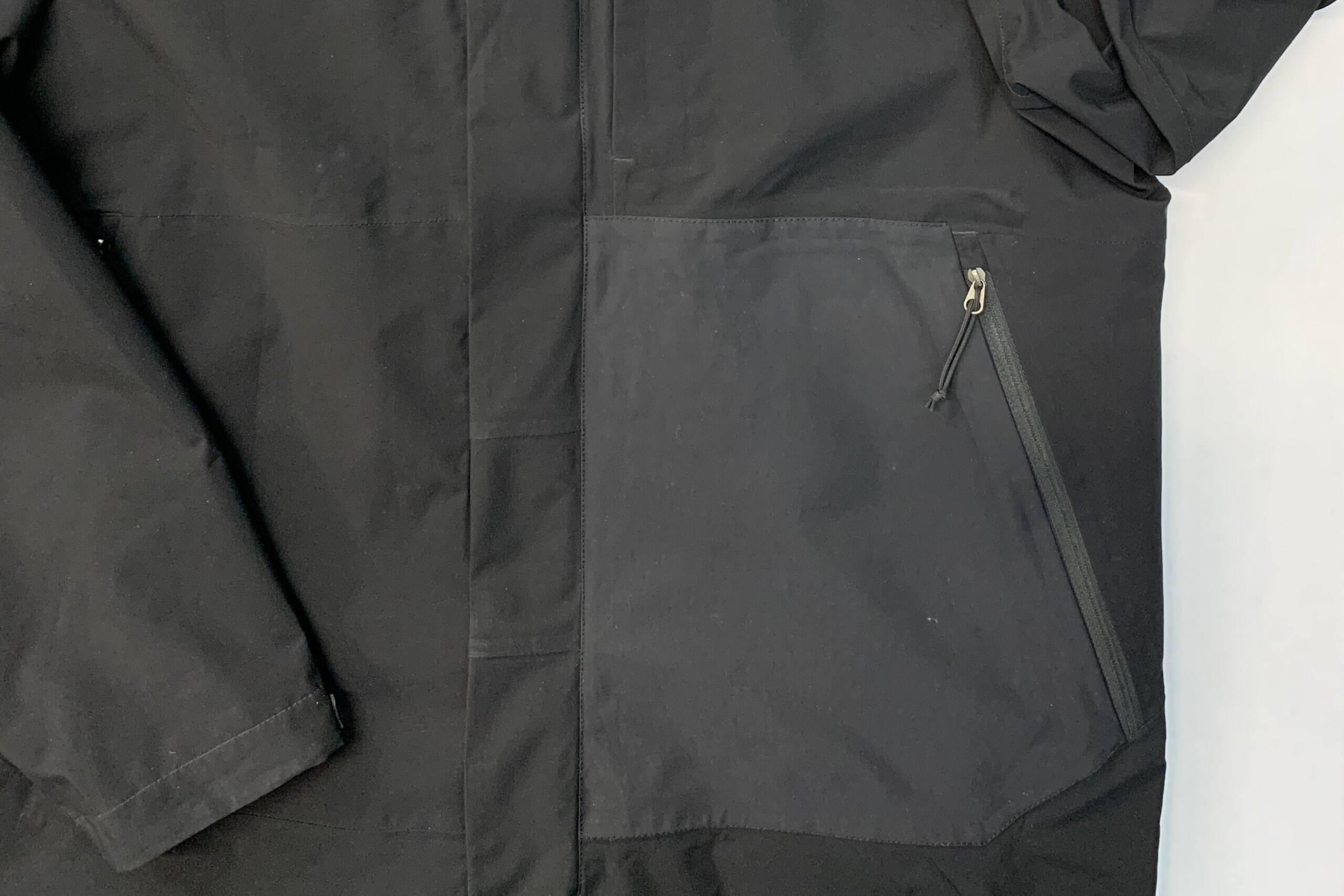 Nylon jacket patch